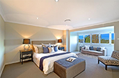 Killara residential development project main bedroom